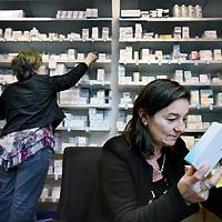 Nederland, Amsterdam , 17 januari 2011..Heleen Schaffels, directeur behandelzaken acute psychiatrie in de Apotheek van de Valeriuskliniek..Foto:Jean-Pierre Jans