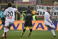 M Baye Niang Milan, Riccardo Gagliolo Carpi <br /> Modena 06-12-2015 Stadio Braglia Football Calcio 2015/2016 Serie A Carpi - Milan Foto Andrea Staccioli / Insidefoto
