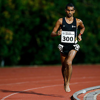 Nabin Parajuli of Singapore Institute of Management in action during the men's 10000m event. (Photo © Lim Yong Teck/Red Sports) The 2018 Institute-Varsity-Polytechnic Track and Field Championships were held over three days in January.<br /> <br /> Story: https://www.redsports.sg/2018/01/15/ivp-day-one/<br /> <br /> Story: https://www.redsports.sg/2018/01/18/ivp-day-two/<br /> <br /> Story: https://www.redsports.sg/2018/01/23/ivp-day-three/