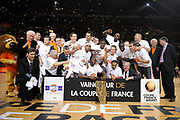 DESCRIZIONE : Paris Bercy Finales Coupe de France de Basket 2009 Finale Masculine Pro SLUC Nancy Le Mans SB<br /> GIOCATORE :<br /> SQUADRA : SLUC Nancy Le Mans SB<br /> EVENTO : Coupe de France de Basket 2009<br /> GARA : SLUC Nancy Le Mans SB<br /> DATA : 17/05/2009<br /> CATEGORIA : <br /> SPORT : Pallacanestro<br /> AUTORE : FF BB/Jean Francois Molliere-Ciamillo&Castoria<br /> Galleria : Coupe de France de Basket 2009<br /> Fotonotizia : Paris Bercy Finales Coupe de France de Basket 2009 Finale Masculine Pro SLUC Nancy Le Mans SB<br /> Predefinita : si