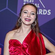 NLD/Amsterdam/20190613 - Inloop uitreiking De Beste Social Awards 2019, Sarah Dol