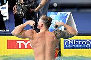 KOSTIN Oleg RUS Russia Gold Medal <br /> Men's 50m Butterfly Final <br /> Glasgow 07/12/2019<br /> XX LEN European Short Course Swimming Championships 2019<br /> Tollcross International Swimming Centre<br /> Photo Andrea Staccioli / Deepbluemedia / Insidefoto