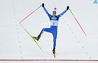 VANCOUVER OLYMPIC GAMES 2010 - VANCOUVER (CAN) - 16/02/2010 - PHOTO : VINCENT CURUTCHET / DPPI<br /> BIATHLON / 12,5KM PURSUIT MEN - VINCENT JAY (FRA) / BRONZE MEDAL AND BJORN FERRY (SWE) / WINNER