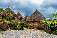Kanta Lodge, Konso, Omo Valley, Southern Nations Nationalities and People's Region, Ethiopia.