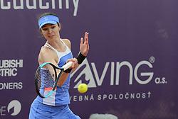 May 20, 2018 - Trnava, Slovakia - GALINA VOSKOBEVA in the doubles final of the Empire Slovak Open tennis tournament in Trnava Slovakia (Credit Image: © Christopher Levy via ZUMA Wire)