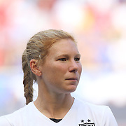 Lori Chalupny, U.S. Women's National Team, during the U.S. Women's National Team Vs Korean Republic, International Soccer Friendly in preparation for the FIFA Women's World Cup Canada 2015. Red Bull Arena, Harrison, New Jersey. USA. 30th May 2015. Photo Tim Clayton
