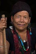 Tagin woman<br /> Tagin tribe<br /> Arunachal Pradesh<br /> North East India