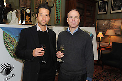 A party to promote the exclusive Puntacana Resort & Club - the Caribbean's Premier Golf & Beach Resort Destination, was held at Spencer House, London on 13th May 2010.<br /> <br /> Picture shows:-Left to right, DAVID MULLER and MARCELO RICAUD