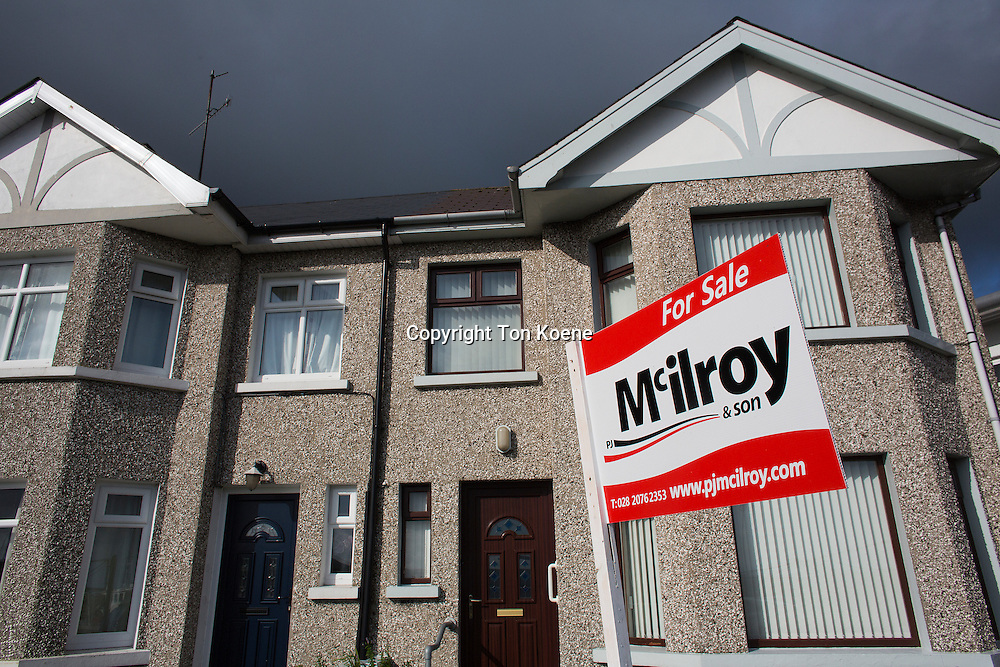 many houses for sale due to poor economy in Northern Ireland