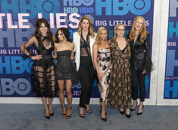 May 29, 2019 - New York, New York, United States - Shailene Woodley, Zoe Kravitz, Laura Dern, Reese Witherspoon, Meryl Streep, Nicole Kidman attend HBO Big Little Lies Season 2 Premiere at Jazz at Lincoln Center  (Credit Image: © Lev Radin/Pacific Press via ZUMA Wire)