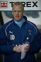 New Coventry City manager Iain Dowie