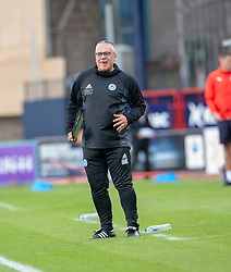 Ayr United's manager Ian McCall. half time : Dundee 0 v 0 Ayr United, Scottish League Cup Second Round, played 18/8/2018 at the Kilmac Stadium at Dens Park, Scotland.