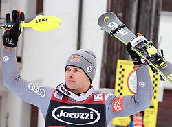 29.12.2017, Stelvio, Bormio, ITA, FIS Weltcup, Ski Alpin, alpine Kombination, Herren, Siegerehrung, im Bild Alexis Pinturault (FRA, 1. Platz) // race winner Alexis Pinturault of France during the winner Ceremony for the men's Alpine combination of FIS Ski Alpine World Cup at the Stelvio course, Bormio, Italy on 2017/12/29. EXPA Pictures © 2017, PhotoCredit: EXPA/ Johann Groder