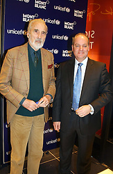 """Left to right, actor CHRISTOPHER LEE and KEVIN BOLTMAN,  at a party to celebrate the opening of the new Mont Blanc store at 151 Sloane Street, London on 9th March 2005.  The evening was held in conjunction with UNICEF's """"Sign up for the right to write"""" campaign which is raising money though the sale of celebraties 'statements' currently for auction on the ebay website.<br /><br />NON EXCLUSIVE - WORLD RIGHTS"""