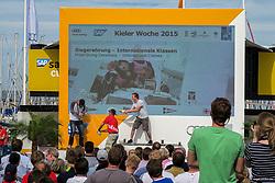 , Kiel - Kieler Woche 20. - 28.06.2015, Siegerehrung - 28.06.2015