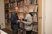 CHRIS BINDING; PAUL TREVOR, Opening of the Martin Parr Foundation party,  Martin Parr Foundation, 316 Paintworks, Bristol, BS4 3 EH  20 October 2017