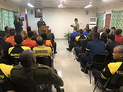 March 21, 2019 - Russian specialists trained firefighters and rescue workers from Latin America and the Caribbean  EMERCOM of Russia via globallookpress.com (Credit Image: © Russian Look via ZUMA Wire)