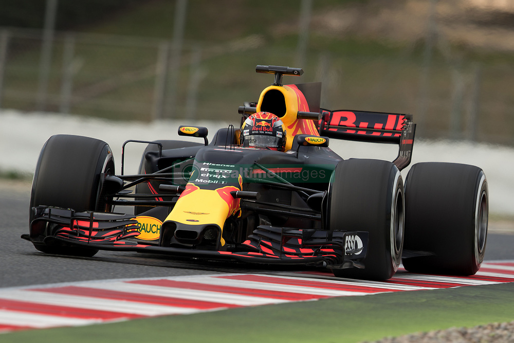 March 10, 2017 - Barcelona, Barcelona, Spain - Max Verstappen from Nederlans of Red Bull Tag Heuer RB13 in action during the Formula One winter testing at Circuit de Catalunya on March 10, 2017 in Montmelo, Spain. (Credit Image: © Dpi/NurPhoto via ZUMA Press)