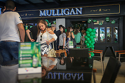 Comemoração do Saint Patrick's Day no Mulligan Irish Pub do Viva Open Mall. FOTO: Jefferson Bernardes/ Agência Preview