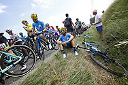 Alejandro Valverde (ESP - Movistar) during the 105th Tour de France 2018, Stage 16, Carcassonne - Bagneres de Luchon (218 km) on July 24th, 2018 - Photo Luca Bettini / BettiniPhoto / ProSportsImages / DPPI