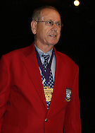 28 August 2006: Hall of Famer Peter Collins. The National Soccer Hall of Fame Induction Ceremony was held at the National Soccer Hall of Fame in Oneonta, New York.