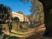 Łańcut, 2018-25-11. Zamek Lubomirskich i Potockich w Łańcucie, dawna rezydencja magnacka z 1 połowy XVII wieku.