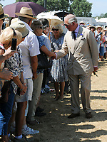 Prince Charles  at the 'Sandringham Flower Show' at Sandringham House in Norfolk, UK on the 25th July 2018