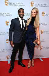 Ore Oduba and wife Portia arrive at the British Academy Children's Awards, at the Roundhouse in Camden, north London.