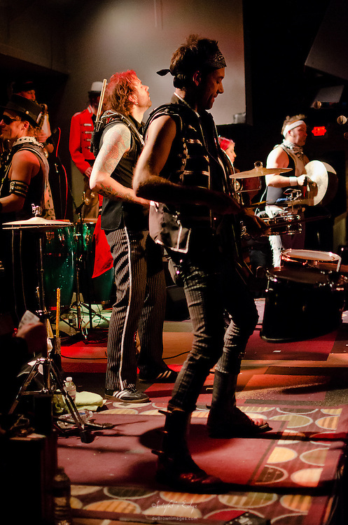 March Fourth at the start of their performance in The Blockley in Philadelphia, PA.