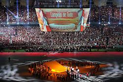 Campeões de Tudo na Festa Gigante - Reinauguração do Beira-Rio, neste sábado 05 de abril de 2014. O estádio Beira Rio receberá os jogos da Copa do Mundo de Futebol 2014. FOTO: Jefferson Bernardes/ Agência Preview