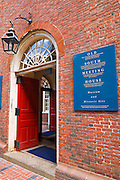 The Old South Meeting House on the Freedom Trail, Boston, Massachusetts