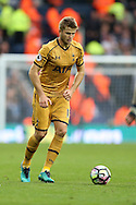 Eric Dier of Tottenham Hotspur in action.Premier league match, West Bromwich Albion v Tottenham Hotspur at the Hawthorns stadium in West Bromwich, Midlands on Saturday 15th October 2016. pic by Andrew Orchard, Andrew Orchard sports photography.