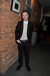 Singer CONOR MAYNARD at the Raymond Weil Pre-Brit Awards Dinner held at The Mosaica, The Chocolate Factory, Clarendon Rd, Wood Green, London N22 on 24th January 2013.