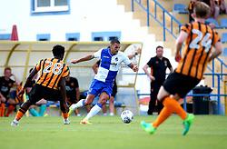 Liam Sercombe runs with the ball - Mandatory by-line: Robbie Stephenson/JMP - 18/07/2017 - FOOTBALL - Estadio da Nora - Albufeira,  - Hull City v Bristol Rovers - Pre-season friendly