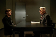 """""""Dead Letter"""" – The NCIS team, alongside the FBI and MI6, continue an international manhunt for an escaped British spy who has left one colleague fighting for their life in ICU, on NCIS, Tuesday, May 10 (8:00-9:00 PM, ET/PT), on the CBS Television Network. Sarah Clarke guest stars as FBI Special Agent Tess Monroe and Duane Henry guest stars as MI6 Officer Clayton Reeves. Pictured: Vince Nappo as David Scott,  Mark Harmon as Jethro Gibbs.   Photo: Jace Downs/CBS ©2016 CBS Broadcasting, Inc. All Rights Reserved"""