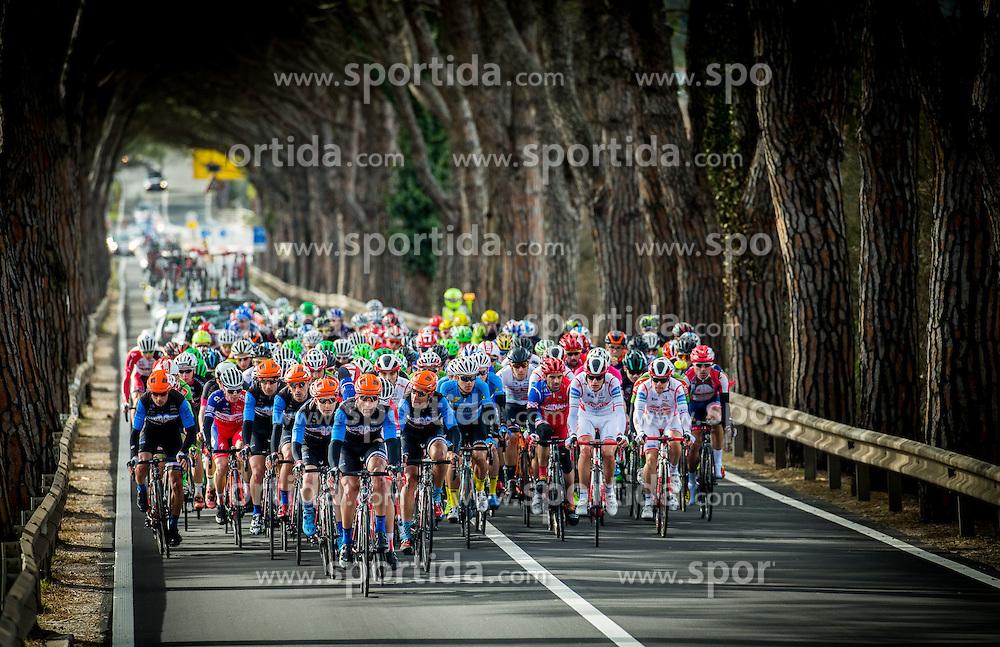 Peloton during the UCI Class 1.2 professional race 4th Grand Prix Izola, on February 26, 2017 in Stunjan, Slovenia. Photo by Vid Ponikvar / Sportida