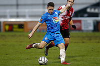John Rooney. Woking FC 1-4 Stockport County FC. Vanarama National League. KIngfield Stadium. 30.1.21