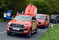 Some of the advertisers vehicles  during Stage 1 of the Tour de Yorkshire from Doncaster to Selby, Doncaster, United Kingdom on 2 May 2019.