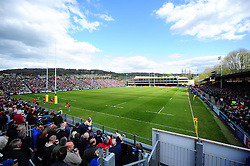 A general view of the Recreation Ground - Mandatory byline: Patrick Khachfe/JMP - 07966 386802 - 23/04/2016 - RUGBY UNION - The Recreation Ground - Bath, England - Bath Rugby v Sale Sharks - Aviva Premiership.