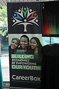June 12, 2017-New York, New York-United States:  Atmosphere during ' Cocktails & Conversation with Ambassador Zindzi Mandela 'highlighting the advocacy for the equity and rights of girls and women held at the Lincoln Ristorante at Lincoln Center on June 12, 2017 in New York City. Powered by CareerBox Soweto, the organization's mission is fulfill the hopes and dreams of youth of South Africa. (Photo by Terrence Jennings/terrencejennings.com)