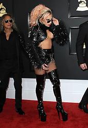 February 12, 2017 - Los Angeles, CA, United States - 12 February 2017 - Los Angeles, California - Lady Gaga. 59th Annual GRAMMY Awards held at the Staples Center. Photo Credit: AdMedia (Credit Image: © AdMedia via ZUMA Wire)