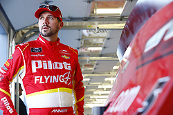 March 2, 2018 - Las Vegas, Nevada, United States of America - March 02, 2018 - Las Vegas, Nevada, USA: Michael Annett (5)  hangs out in the garage during practice for the Boyd Gaming 300 at Las Vegas Motor Speedway in Las Vegas, Nevada. (Credit Image: © Chris Owens Asp Inc/ASP via ZUMA Wire)