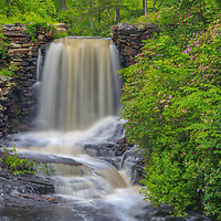 Spring colors and waterfall photography at the Major Willard Moore State Park in Paxton, Massachusetts.<br /> <br /> <br /> Moore State Park waterfalls photography images are available as museum quality photography prints, canvas prints, acrylic prints, wood prints or metal prints. Fine art prints may be framed and matted to the individual liking and decorating needs:<br /> <br /> https://juergen-roth.pixels.com/featured/moore-state-park-central-massachusetts-waterfall-juergen-roth.html<br /> <br /> Good light and happy photo making!<br /> <br /> My best,<br /> <br /> Juergen