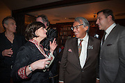 TONY BLAIR;  CHERIE BLAIR; SIR DAVID TANG; DAVID WALLIAMS, Chinese New Year dinner given by Sir David Tang. China Tang. Park Lane. London. 4 February 2013.
