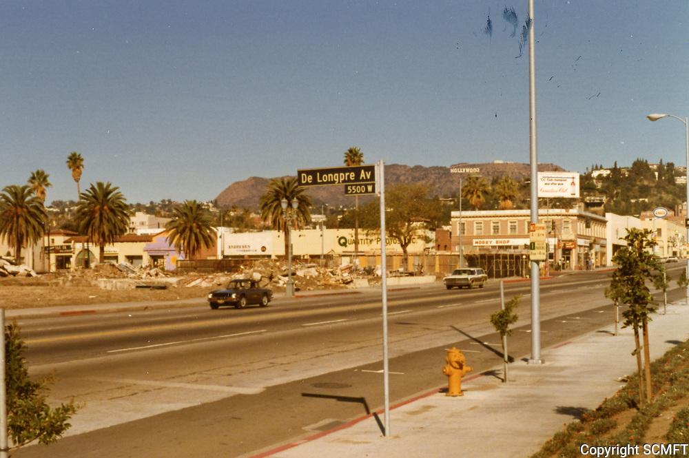 1972 Demolition of Fox Studios in Hollywood