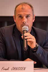 June 5, 2018 - Grobbendonk, BELGIUM - Frank Janssen pictured during a press conference of new soccer team KSK Lierse Kempenzonen, a merger between bankrupt Lierse SK and Oosterzonen, in Grobbendonk, Tuesday 05 June 2018. BELGA PHOTO LUC CLAESSEN (Credit Image: © Luc Claessen/Belga via ZUMA Press)