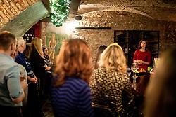Urska Makovec at Two Years of Aleteia Slovenia, on December 6, 2019 in Dvorni bar, Ljubljana, Slovenia. Photo by Vid Ponikvar/ Sportida