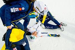 February 3, 2018 - Goms, SWITZERLAND - 180203 Tua Dahlgren of Sweden after coming third in the women's 4x3,3 km relay during the FIS Nordic Junior World Ski Championships on February 3, 2018 in Obergoms..Photo: Vegard Wivestad GrÂ¿tt / BILDBYRN / kod VG / 170098 (Credit Image: © Vegard Wivestad Gr¯Tt/Bildbyran via ZUMA Press)