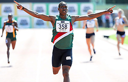 Stellenbosch. 160416 Caster Semenya winning the womens 400m final during the ASA Senior track and field Championships held at Coetzenberg in Stellenbosch. Picture Leon Lestrade