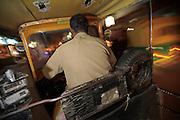 Night Ride in an Auto-Rickshaw - Bangalore, India